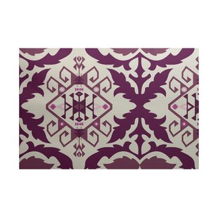 Soluri Purple Indoor/Outdoor Area Rug