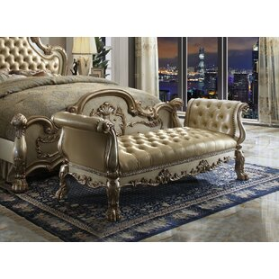 Frederic Genuine Upholstered Bench