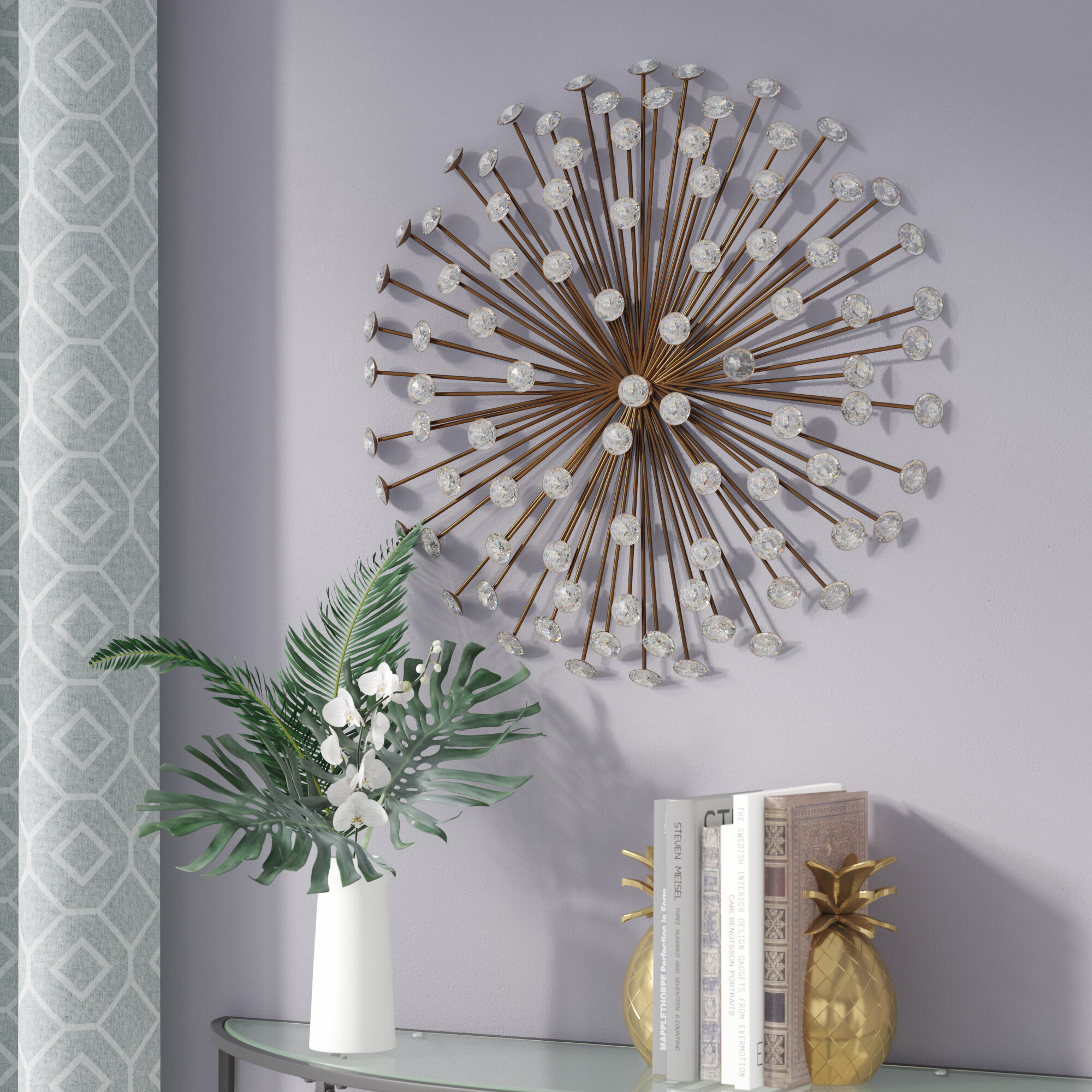 Bronze Metal Wall Accents You Ll Love In 2020 Wayfair