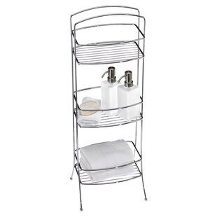 Deals 9.5 W x 30.5 H Bathroom Shelf By Creative Bath