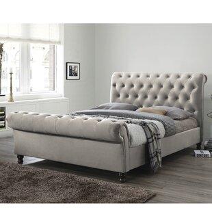 Bagot Upholstered Sleigh Bed By Rosalind Wheeler