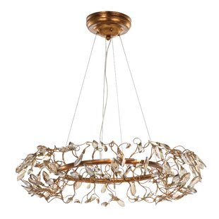 Bungalow Rose Pinion 8-Light Novelty Chandelier