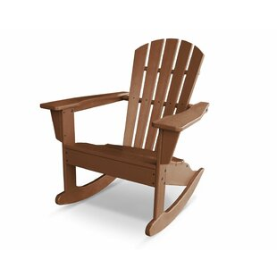 POLYWOOD® Palm Coast Plastic Adirondack Rocking Chair
