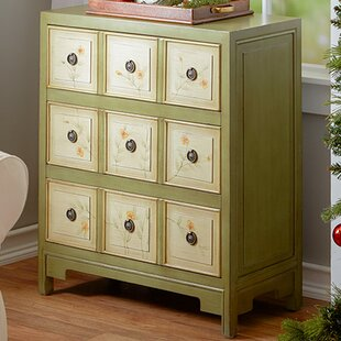 Prager Hand Painted 3 Drawer Chest by Lark Manor