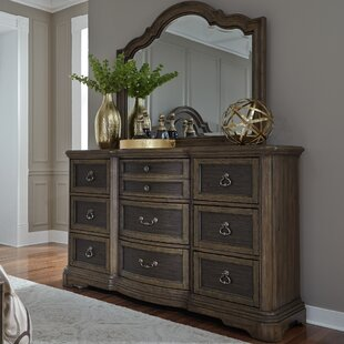 Drumaroan 9 Drawer Dresser with Mirror