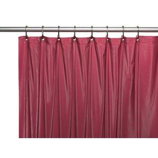 Modern Red Shower Curtains