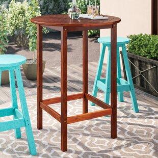Hults Wooden Bar Table