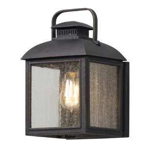 Reviews Koffi 1-Light Outdoor Flush Mount By Gracie Oaks