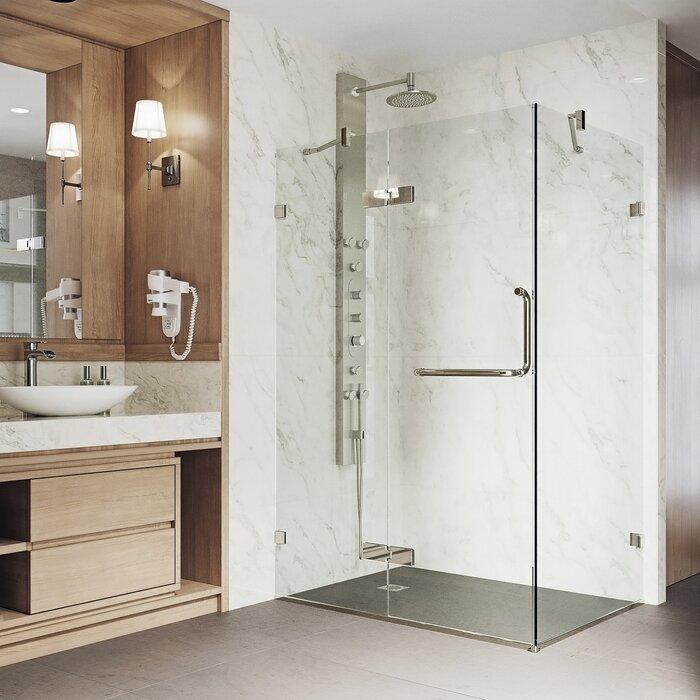 home enclosure sliding dreamline cornerview improvement pdx shower square x