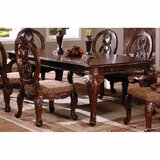Chapin Extendable Walnut Solid Wood Dining Table by Astoria Grand