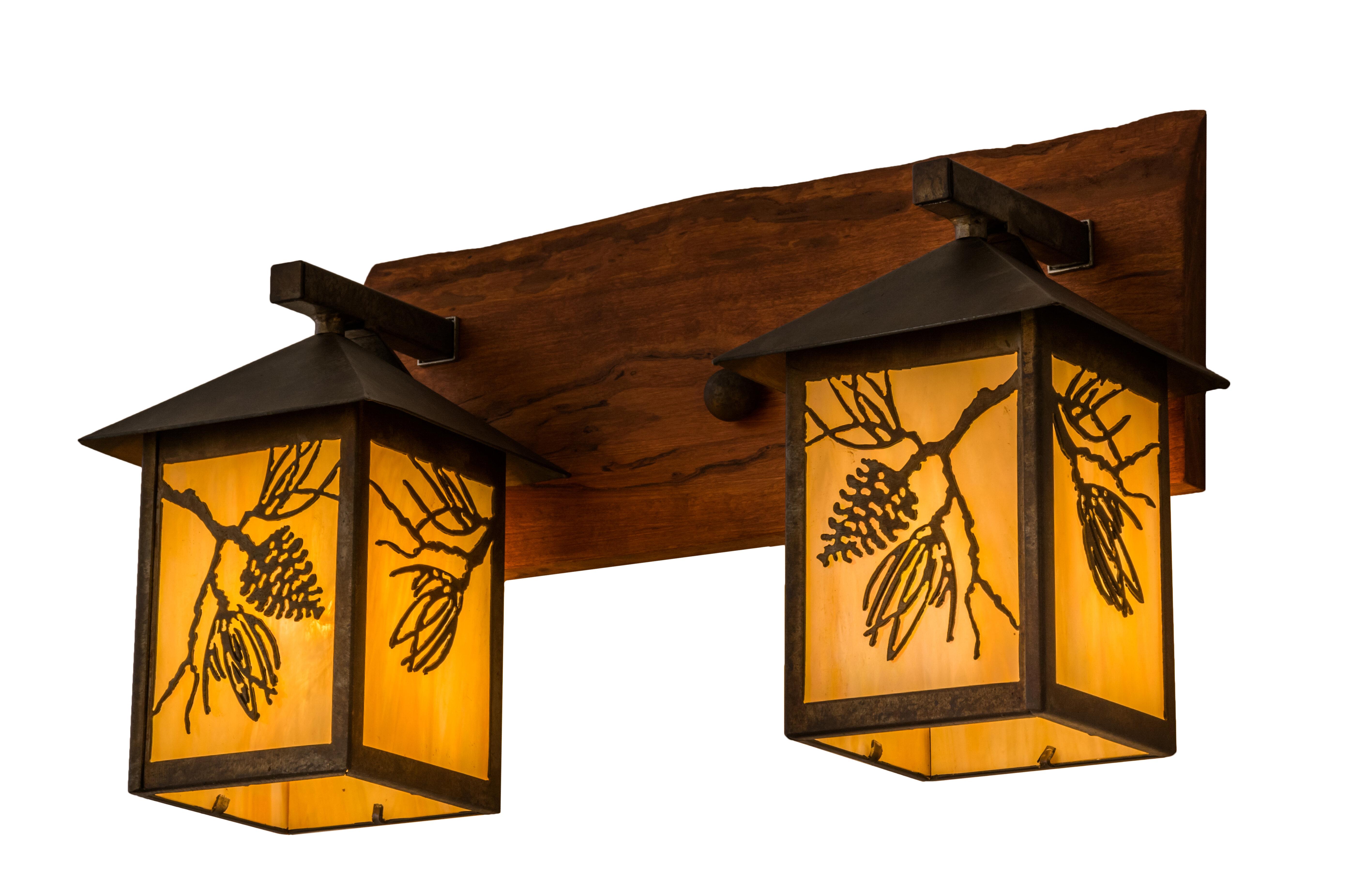 Meyda Tiffany Balsam 2 Light Outdoor Wall Lantern Wayfair