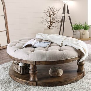Affordable Amstel Farmhouse Tufted Coffee Table By Gracie Oaks