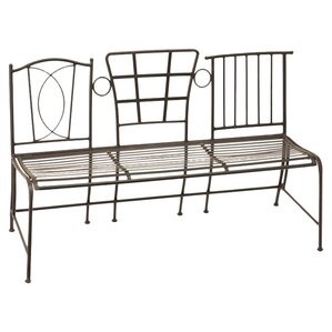 Miette Metal Bench by Evergreen Flag &..