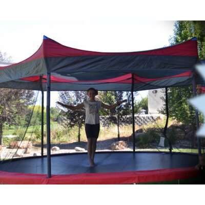 14u0027 Tr&oline Cover  sc 1 st  Wayfair & Bazoongi Kids Treehouse Trampoline Tent u0026 Reviews | Wayfair