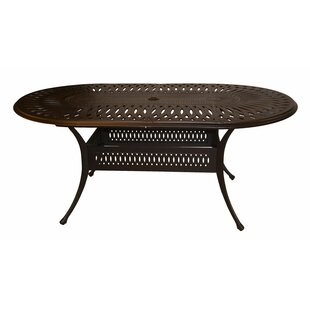 Marlie Metal Dining Table by Darby Home Co