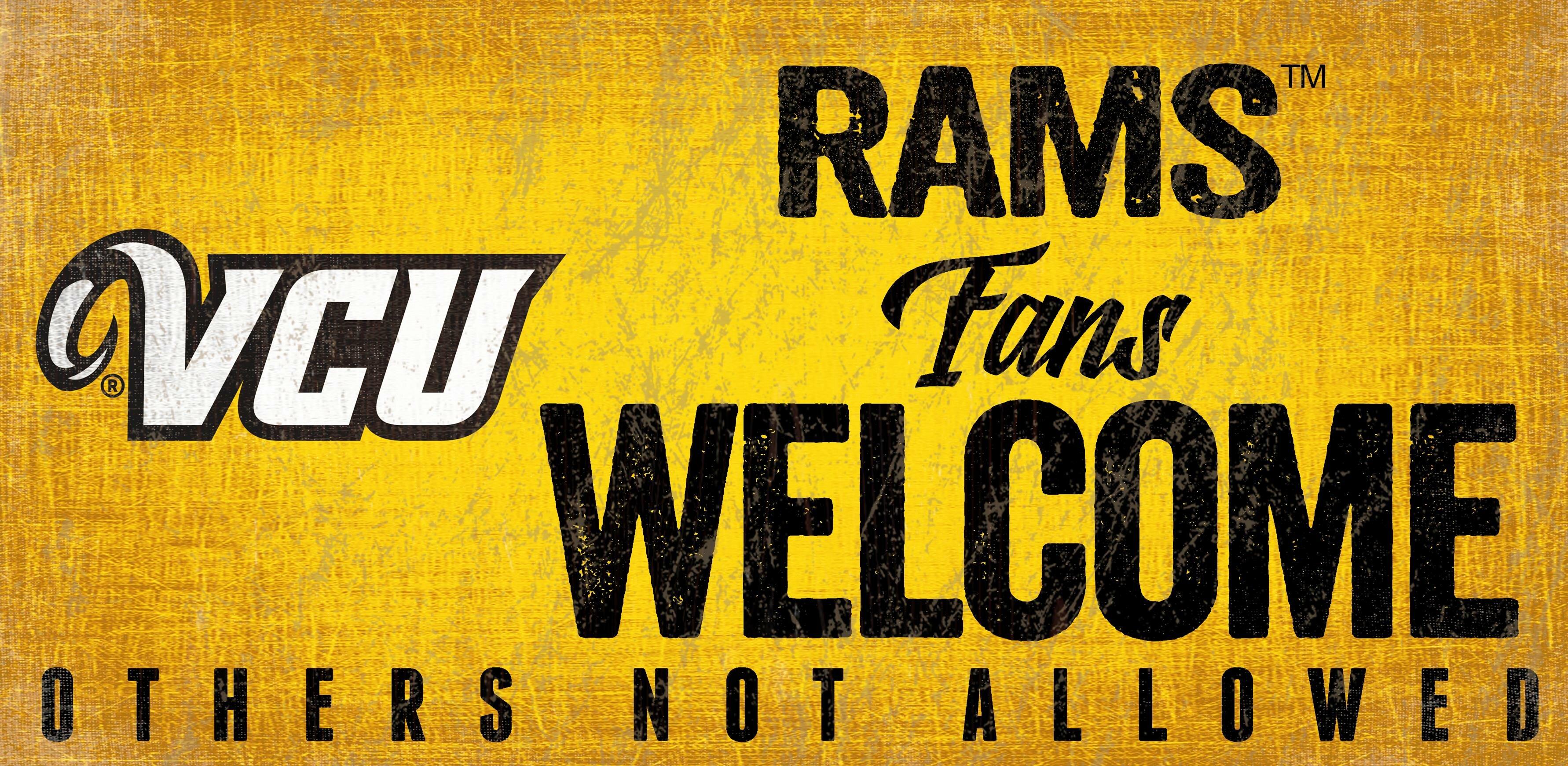 Fan Creations NCAA Fans Welcome Sign Wall Décor | Wayfair