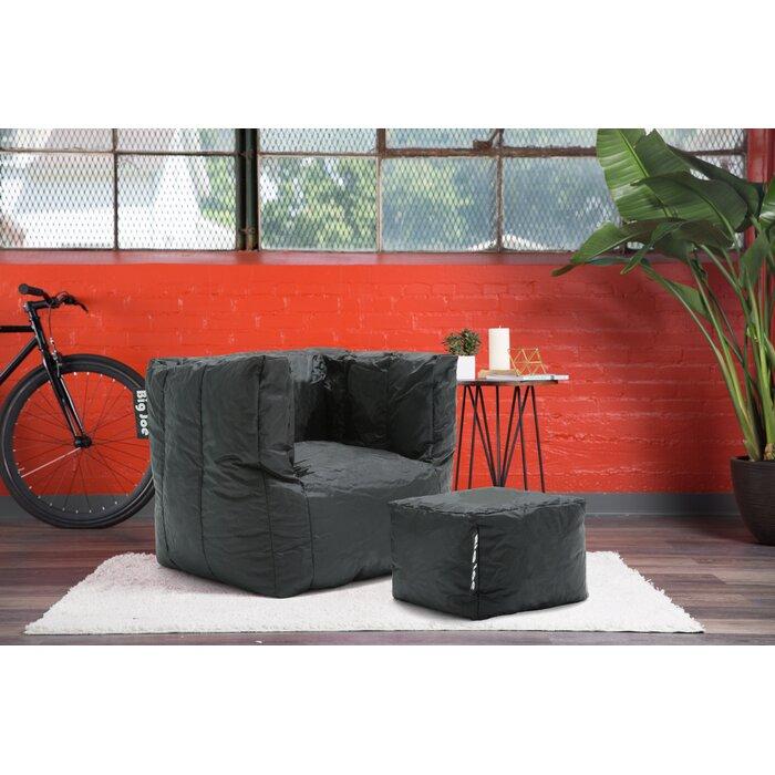 Tremendous Big Joe 2 Piece Smartmax Cube Medium Bean Bag Set Evergreenethics Interior Chair Design Evergreenethicsorg