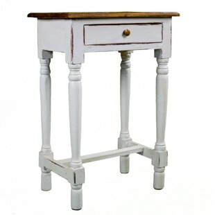 Rosemary Rustic Side Table by Antique Revival