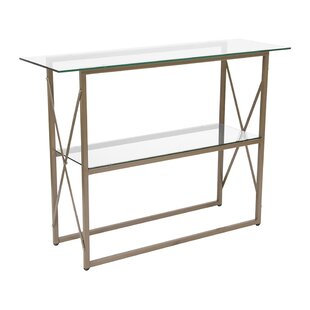Huntsville Glass Console Table