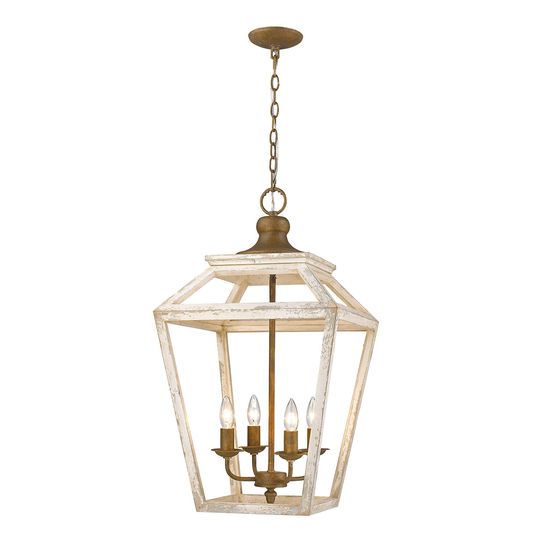 Baugher 4 light lantern pendant