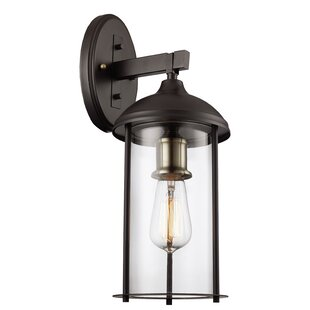 Best Price Marshall1-Light Outdoor Wall Lantern By Trent Austin Design