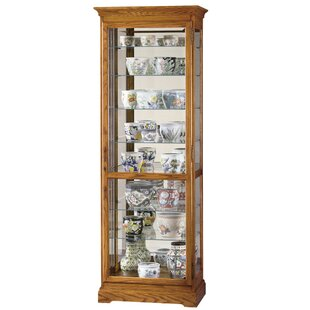 Darby Home Co Broadnax Lighted Curio Cabinet
