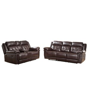 Darby Home Co Farrell 2 Piece Living Room Set