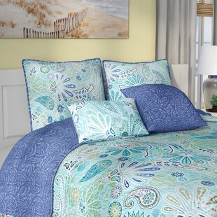 Fareham 5 Piece Reversible Quilt Set