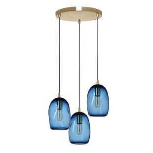 3-Light Cluster Pendant by Casamotion