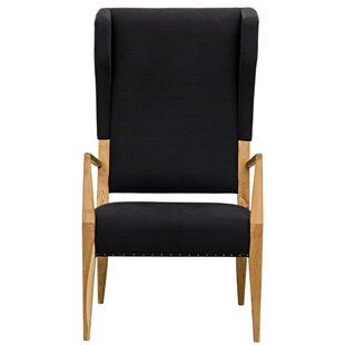 Narciso Wingback Chair by Noir