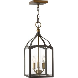 Clarendon 3-Light Foyer Pendant by Hinkley Lighting