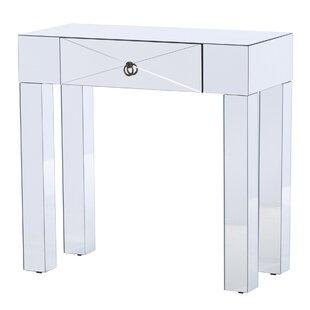 Jessa Mirrored Console Table