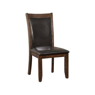 Darby Home Co Epperson Wooden Upholstered Dining Chair (Set of 2)