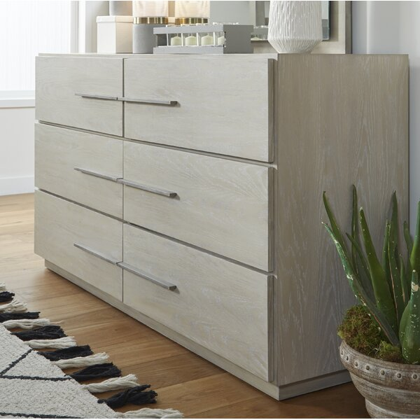 Monatuk 6 Drawer Dresser by Wrought Studio™