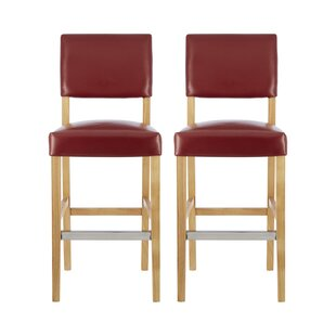 Phaedra 66cm Bar Stool (Set Of 2) By Ebern Designs