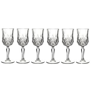 Opera 6 oz. Crystal Stemmed Wine Glass (Set of 6)