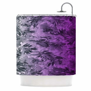 Ebi Emporium Forever Flowers Single Shower Curtain