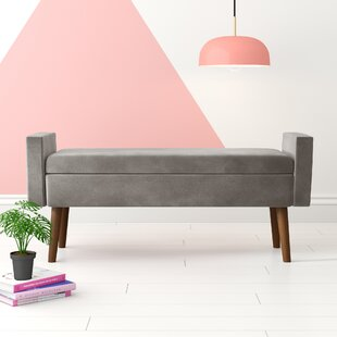 Mosier Upholstered Storage Bench by Hashtag Home