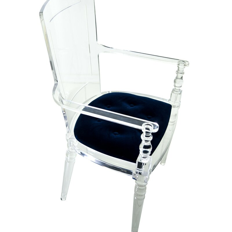 Mod Juliette Lucite Dining Chair