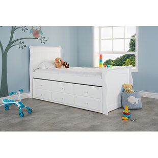 Beyer Single Cabin Bed With Trundle And Drawers By Harriet Bee
