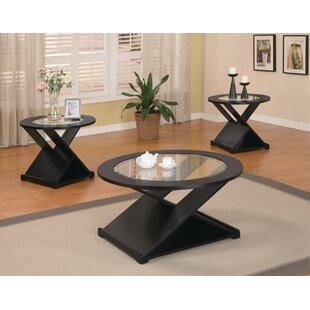 Wildon Home ? Amalga 3 Piece Coffee Table Set