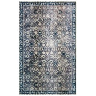 One Of A Kind Alessio Blue Purple Area Rug