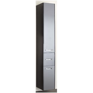 Velo 30 X 186cm Free Standing Tall Bathroom Cabinet By Quickset