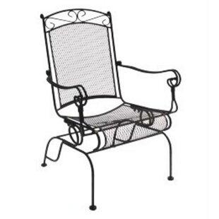 DC America Charleston Wrought Iron High Back Rocking Chair (Set of 2)