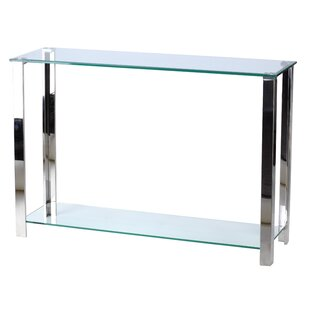 Schwenzer Double Shelf Console Table
