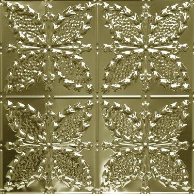 "24"""" x 24"""" Metal Tile in Brass Shanko -  B535 2 DA"