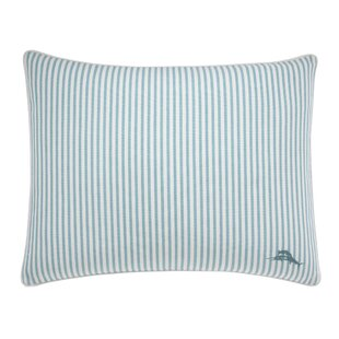 La Scala Breezer Marlin Stripe Cotton Lumbar Pillow