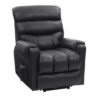 Rolph Leather Power Lift Assist Recliner By Red Barrel Studio
