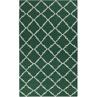 Price comparison Atkins Deep Sea Green Area Rug By Charlton Home