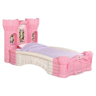 Children's Furniture Princess Palace Twin Platform Bed by Step2